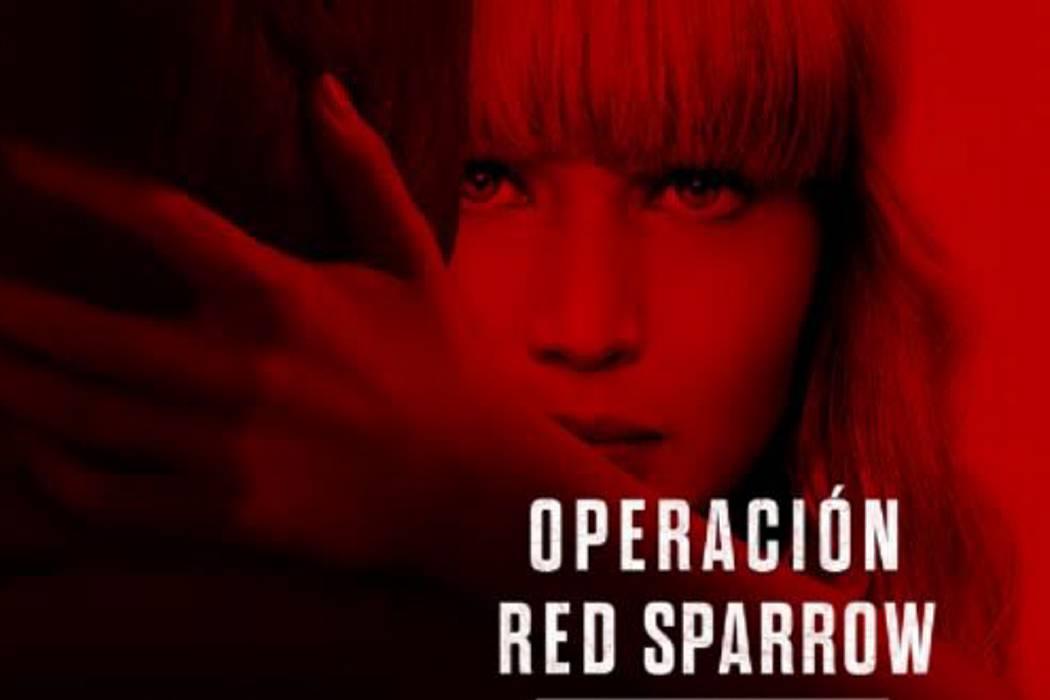 Operación red Sparrow: la nueva película de Jennifer Lawrence