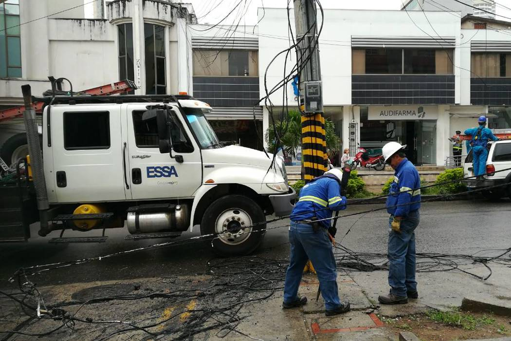 Explosión generó corte de luz en un sector de Cabecera en Bucaramanga