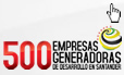 500 Empresas generadoras de Santander