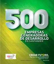 500 Empresas generadoras de Santander
