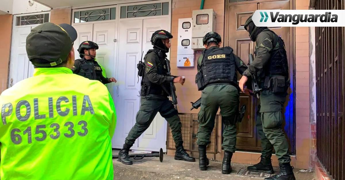 Operativo contra el tráfico de estupefacientes en Floridablanca, dejó 12 personas capturadas - Vanguardia