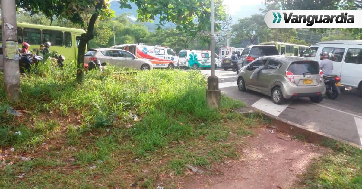 Dos buses de Metrolínea se estrellaron en Floridablanca - Vanguardia