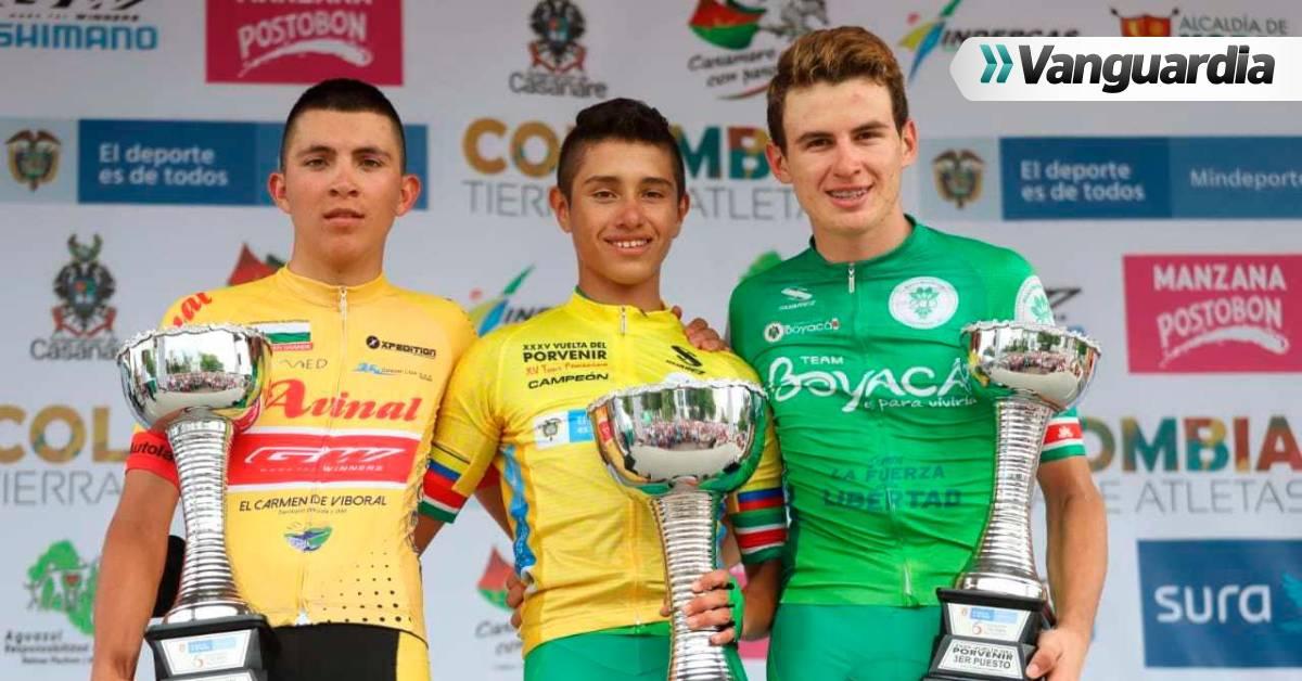 Germán Darío Gómez terminó en el podio de la Vuelta del Porvenir - Vanguardia