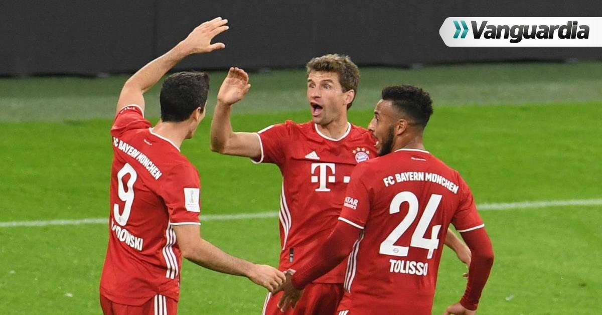 Bayern Múnich conquista la Supercopa de Alemania, su quinto título de la temporada | Vanguardia.com