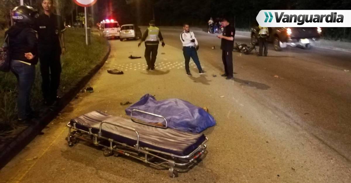 Reportan motociclista muerto en autopista Floridablanca-Bucaramanga - Vanguardia
