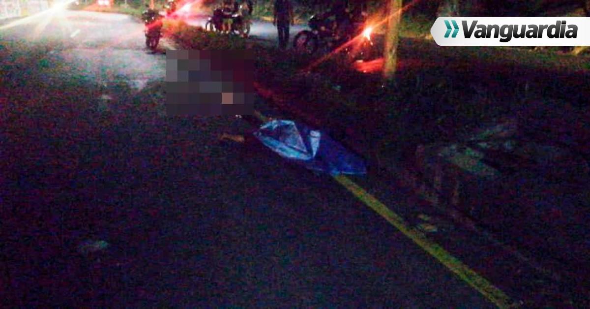 Un hombre murió y otro más resultó herido en accidente vía Lebrija - Bucaramanga - Vanguardia