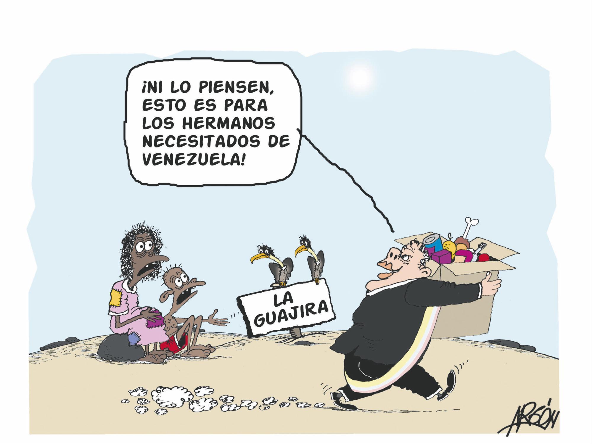 """La """"ayuda humanitaria"""""""