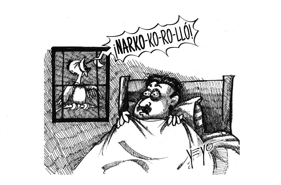 'El pollo' Carvajal empezó a cantar y desvela a Maduro
