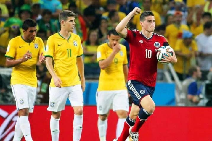 Resultado de imagen para colombia brasil 2014