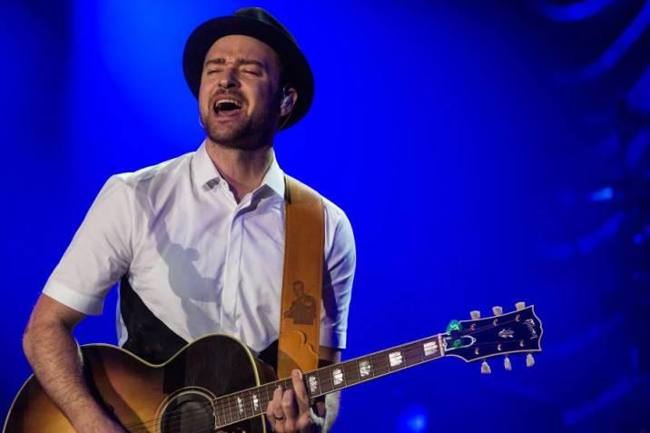 Justin Timberlake y The Killers, cabeza de cartel del británico V