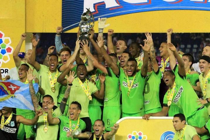 Nacional se coronó campeón de la Copa Águila en Barranquilla (Foto   Colprensa  VANGUARDIA cbc471b9bac
