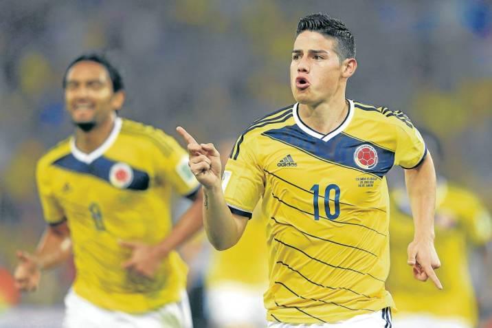 El mediocampista colombiano James Rodríguez fue la gran figura del equipo  nacional en el Mundial de e1553df3bcbad