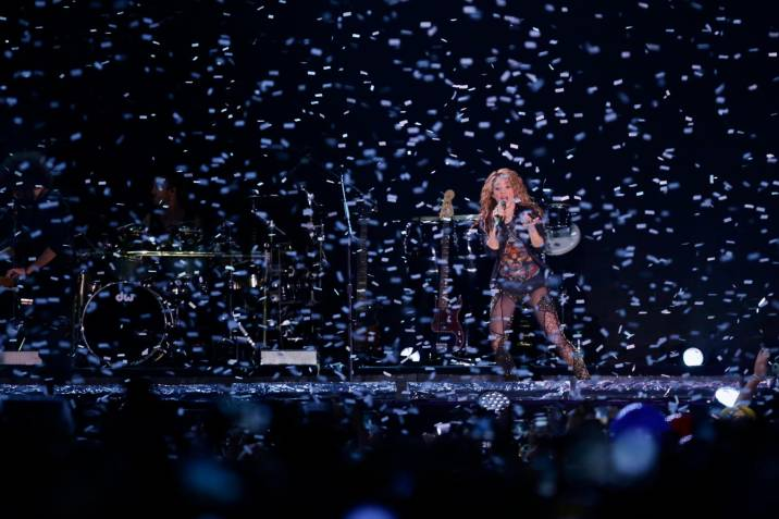 Shakira lanza 'Shakira In Concert: El Dorado World Tour'
