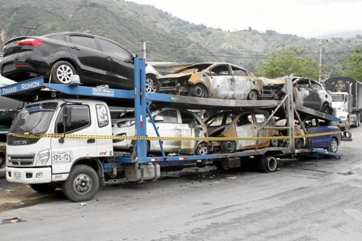 Pérdidas por $300 millones tras voraz incendio de seis vehículos |  Vanguardia.com