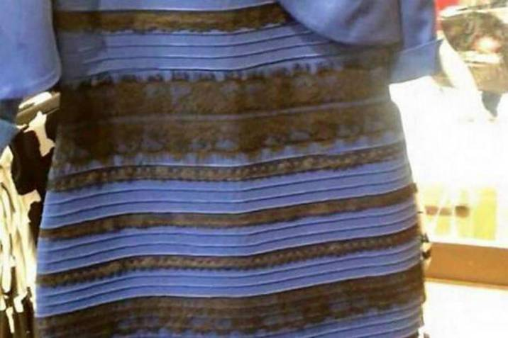 El vestido era blanco y dorado o negro y azul? La ciencia lo