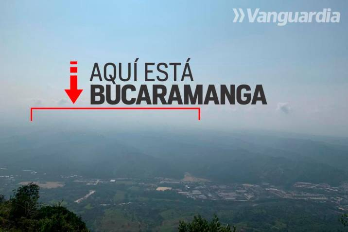 Video: Bucaramanga sigue nublada por mala calidad del aire