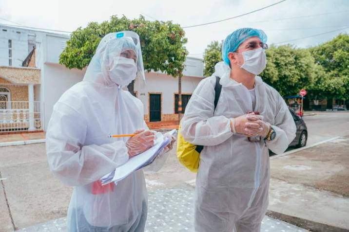 Los 'cazadores' de asintomáticos del Covid en Santander