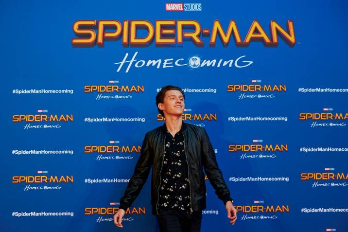 Tom Holland, actor que interpreta a Peter Parker, Spiderman Foto: EFE