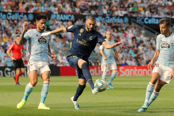 Sin James Rodríguez, Real Madrid vence 3-1 al Celta en su debut de Liga