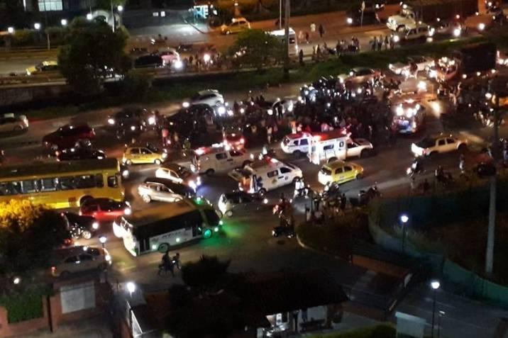 Conductor ebrio habría sido responsable de accidente donde murió una persona en Floridablanca
