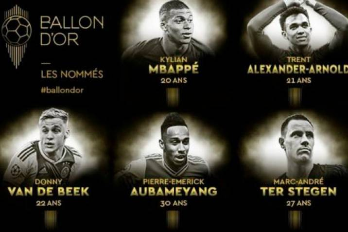 Foto/ Ballon d'Or France Football