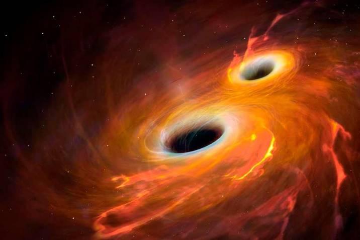 Detectan la mayor colisión de agujeros negros hasta la fecha |  Vanguardia.com