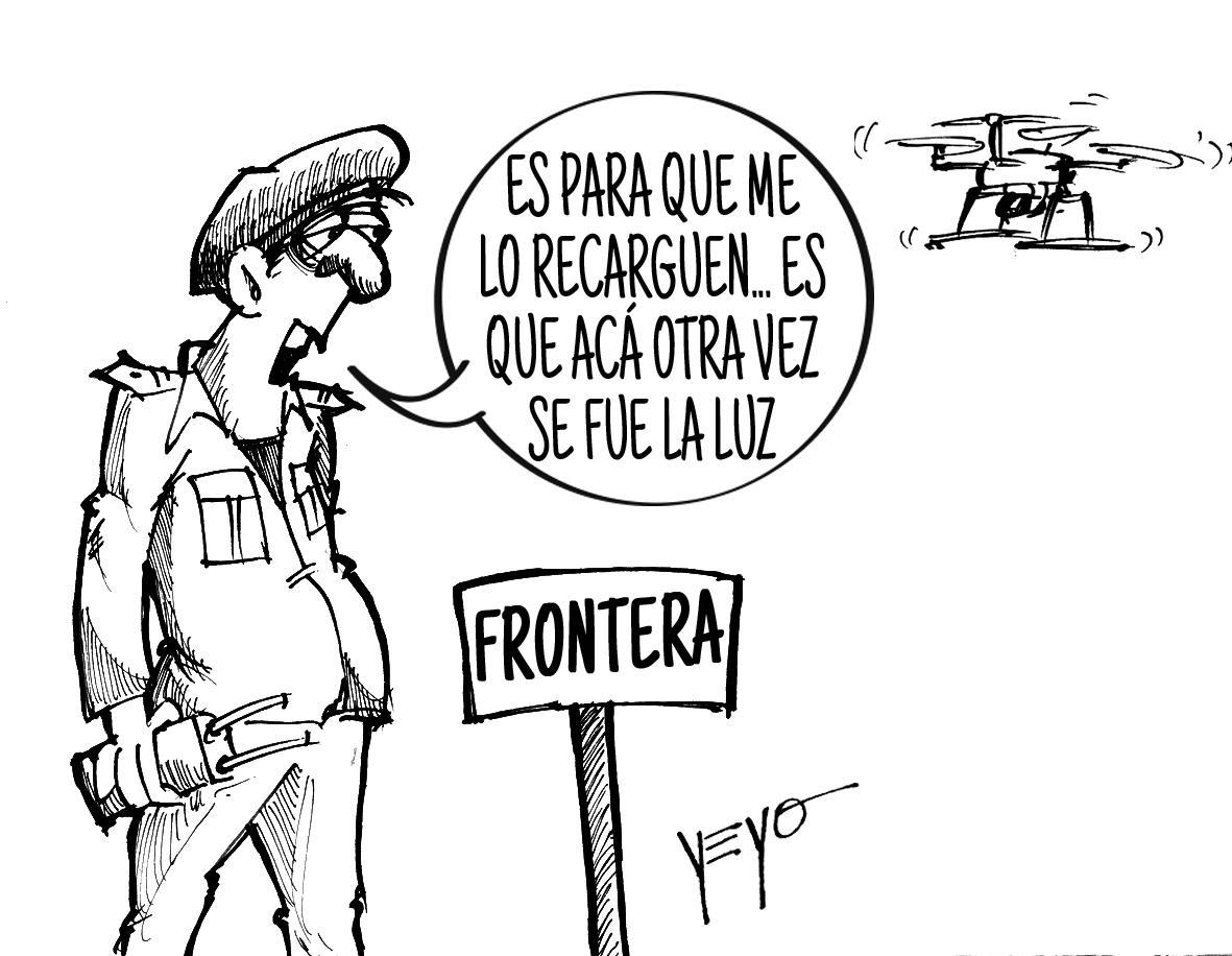 Dron venezolano viola espacio aéreo