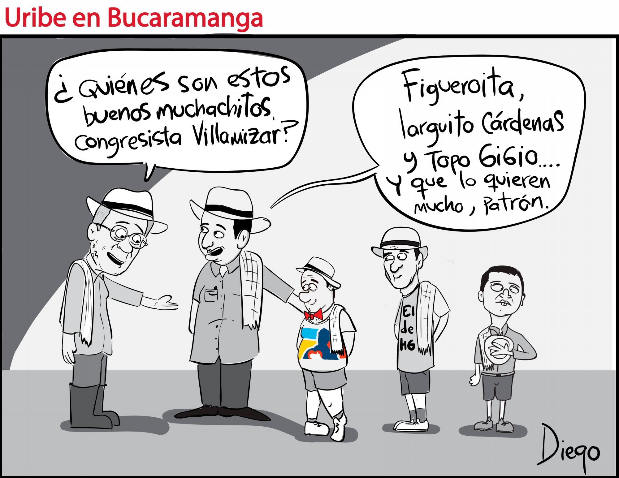 Uribe en Bucaramanga