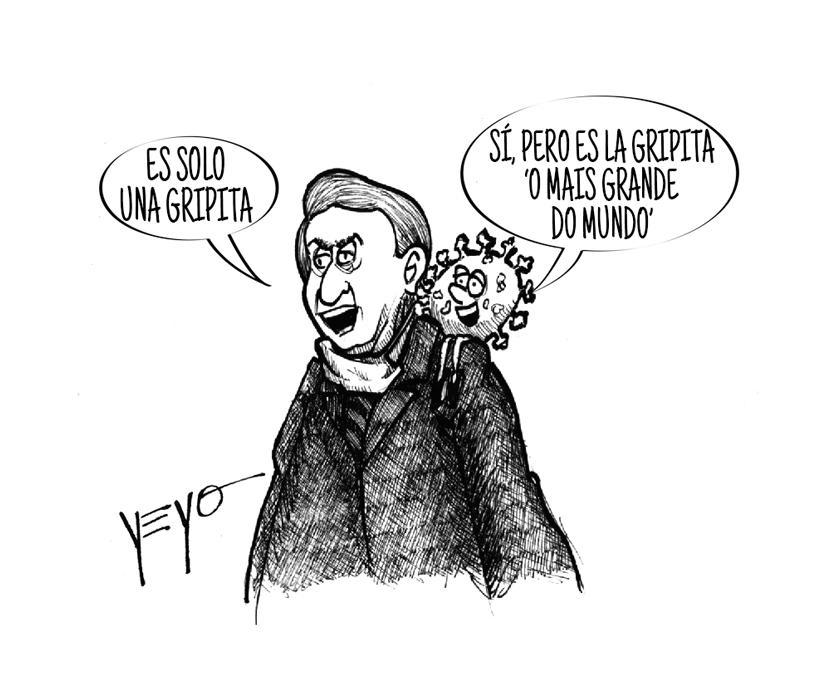 Jair Bolsonaro sigue en negación