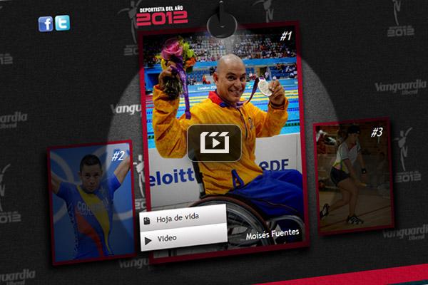 Deportista del año Vanguardia Liberal 2012