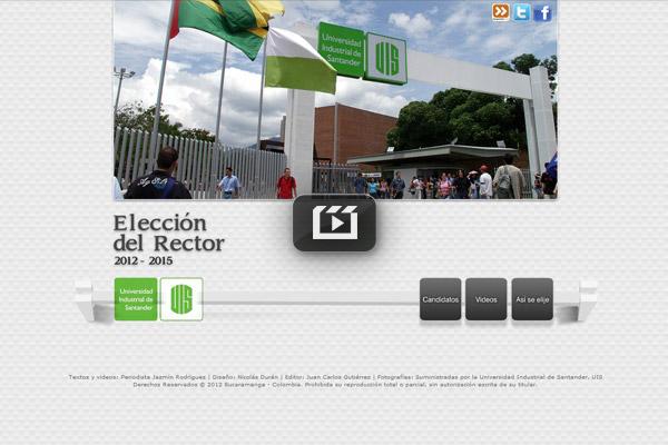 Elecciones Rector de la UIS
