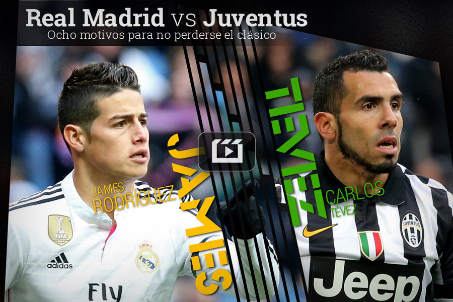 Real Madrid vs Juventus - Semifinal Champions League 2015