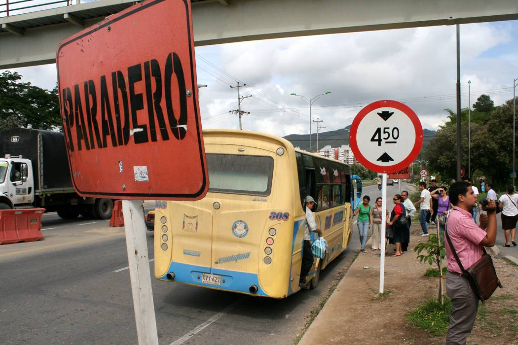 Encuentre en este mapa los peores sitios para tomar transporte en Bucaramanga