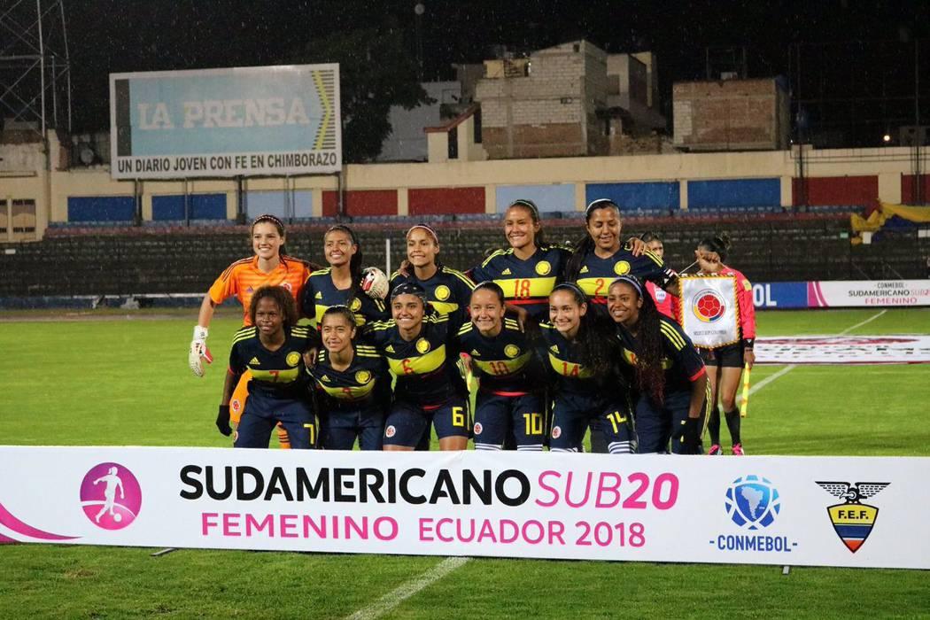 Selección femenina ya piensa en el  cuadrangular final del Sudamericano Sub20