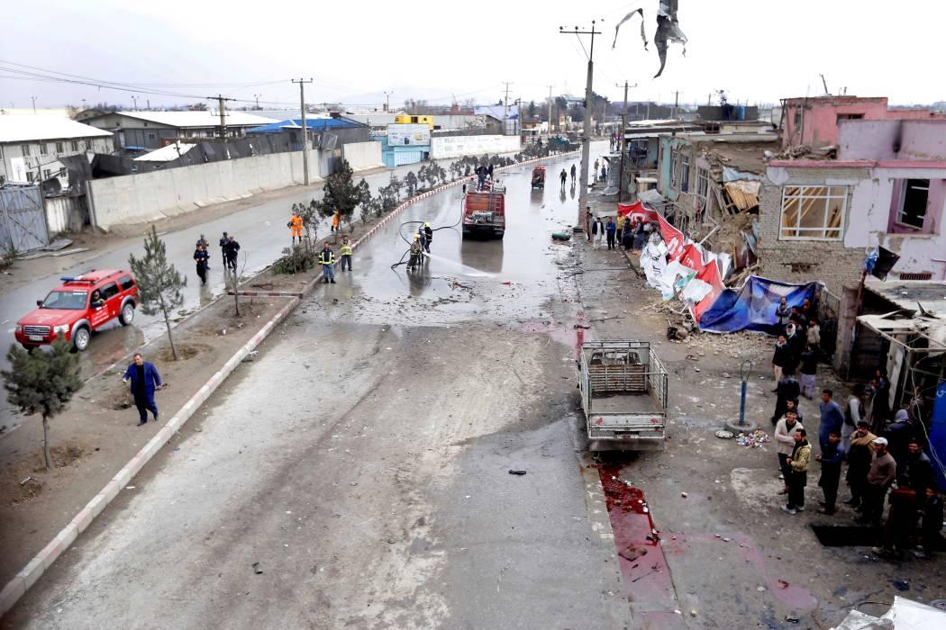 Los talibanes dicen que EE.UU. no quiere la paz