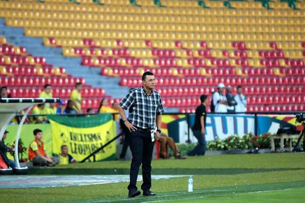 Carlos Mario Hoyos ya no es el técnico del Atlético Bucaramanga