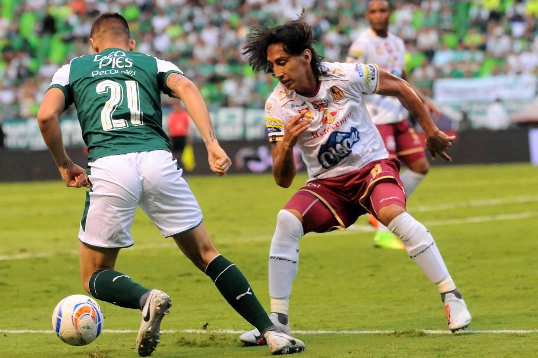 Deportes Tolima asumió el primer puesto en la Liga