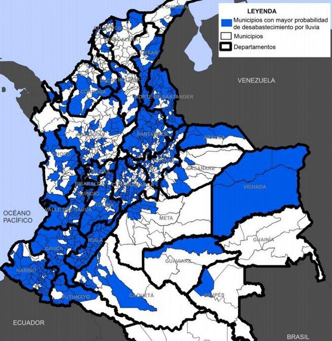 gal captura 3 - 54 municipios de Santander tienen riesgo de desabastecimiento de agua por lluvias