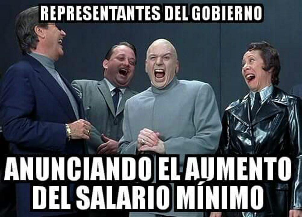 Resultado de imagen para los mejores memes sobre el aumento en venezuela
