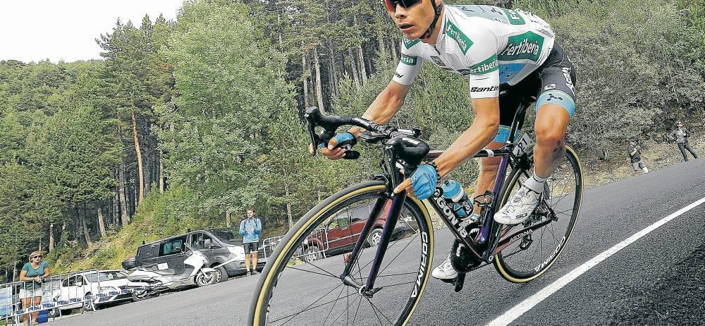 Tras alcanzar el tercer lugar del podio de la Vuelta a España, Miguel Ángel López Moreno suma su segundo podio en una gran vuelta, luego de haber sido tercero en el pasado Giro de Italia, detrás del británico Christopher Froome y del holandés Tom Dumoulin.