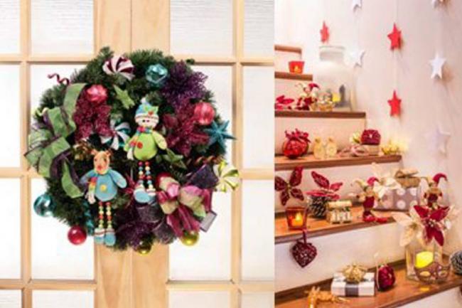 5 tendencias en adornos para esta navidad galer a for Arreglos navidenos para puertas 2016