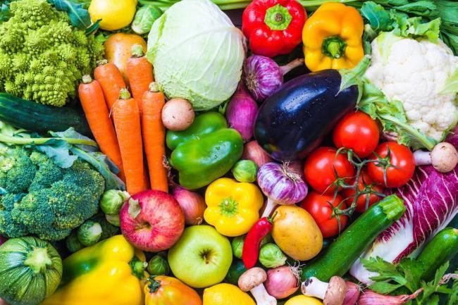 comida orgánica opción saludable para una vida saludable ola