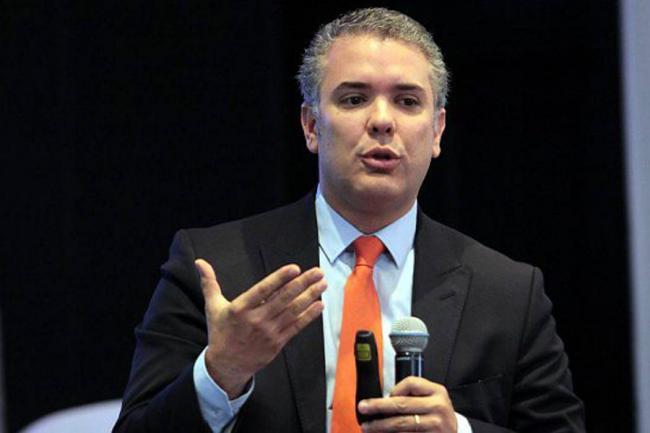 iván duque es el candidato del centro democrático a la presidencia