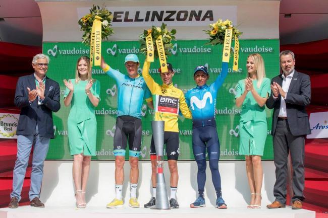 Tomada de Tour de Suisse / VANGUARDIA LIBERAL