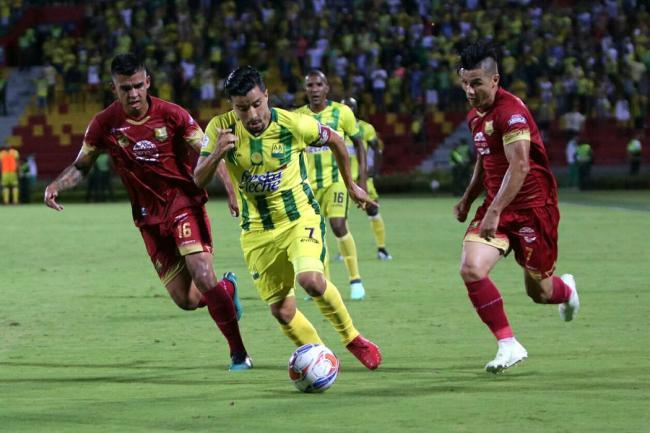 Deportes Tolima se enfrentará a Santa Fe en cuartos de final colombianos