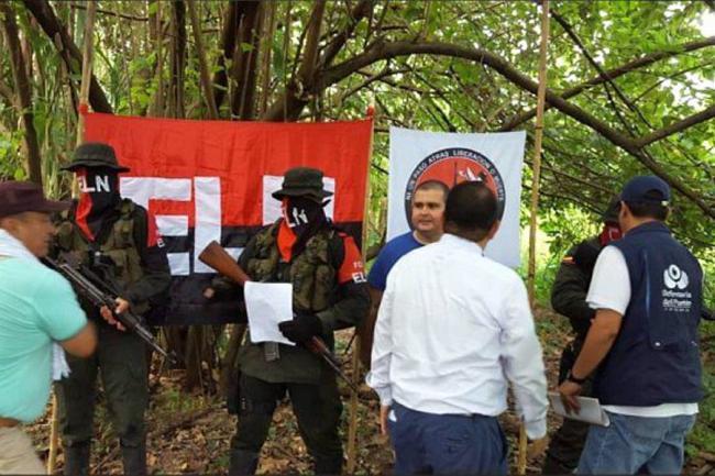 Eln libera al gerente de servicios públicos de Arauca