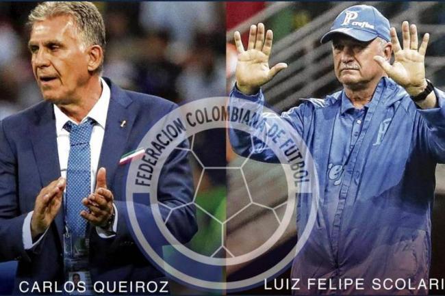 Borja intenta convencer a Scolari de dirigir a la Selección Colombia