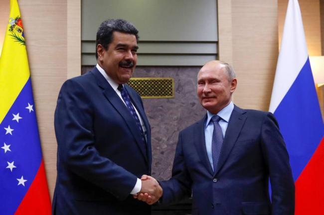 Putin condena cualquier intento de cambiar situación en Venezuela por la fuerza