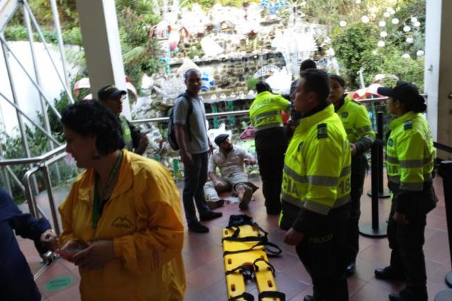 Accidente en Monserrate deja 20 heridos heridos