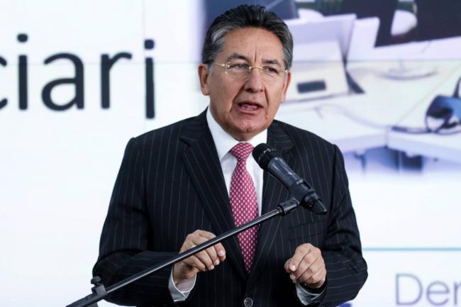 Manifestantes exigieron en las calles la renuncia del fiscal Néstor Humberto Martínez